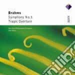 Brahms - Masur - Apex: Sinfonia N.1 - Ouverture Tragica cd musicale di Brahms\masur
