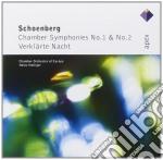 Schoenberg - Holliger - Apex: Sinfonie Da Camera 1&2 - Verklarte Nacht cd musicale di Schoenberg\holliger