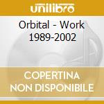 WORK cd musicale di ORBITAL