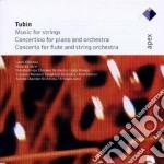 Tubin - Jarvi - Tallin - Kangas - Apex: Piano Concerto - Concerto Per Flauto cd musicale di Tubin\jarvi - tallin