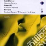 Saint Saens-grondahl-rontgen - Meijer - Van Liere - Apex: Sonate Per Fagotto cd musicale di Saens-grondahl Saint