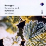 Apex: sinfonia n. 4 - metaboles cd musicale di Honegger - dutilleux