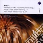 Apex: 4 pezzi op. 12 - 2 portrait op. 5 cd musicale di Bartok\conlon - rott