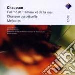 Apex: poeme de l'amour et de la mer - me cd musicale di Chausson\jordan - no