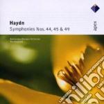 Apex: sinfonie nn. 44, 45 & 49 cd musicale di Haydn\koopman