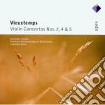 Apex: concerti per violino nn. 2,4 & 5 cd musicale di Vieuxtemps\markov -