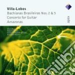 Apex: bachianan brazileiras nn. 2 & 5 - cd musicale di Villa-lobos\krivine