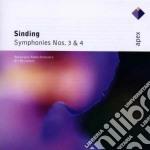 Apex: sinfonie 3 & 4 cd musicale di Sinding\rasilainen