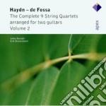 Apex: duo per chitarra vol. 2 cd musicale di Haydn\savijoki - ste