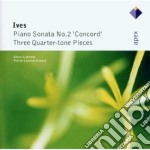 Ives - Lubimov - Aimard - Apex: Piano Sonata N. 2 - 3 Quarter Tone cd musicale di Ives\lubimov - aimar