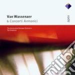 Apex: 6 concerti armonici cd musicale di Wassenaer\koopma Van