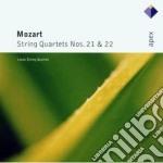 Mozart - Lotus Quartet - Apex: Quartetti Per Archi 21 & 22 cd musicale di Quartet Mozart\lotus
