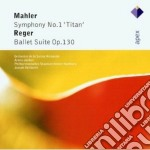 Apex: sinfonia n. 1 - ballet suite op. 1 cd musicale di Mahler - reger\jorda
