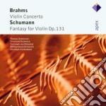 Apex: violin concerto - fantasia op. 131 cd musicale di Brahms - schumann\ze