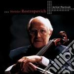 Artist portrait: mstislav rostropovich cd musicale di Vari\rostropovich