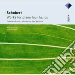 Apex: musica per pianoforte a 4 mani cd musicale di Schubert\queffelec -