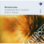 Mendelssohn - Masur - Apex: Sinfonie Nn. 3 & 4 cd musicale di Mendelssohn\masur