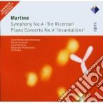 Apex: sinfonia n. 4 - tre ricercari cd musicale di Martinu\turnovsky