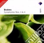 Apex: sinfonie nn. 3 & 4. cd musicale di Brahms\lindenberg