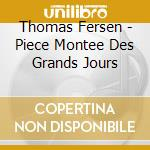 Piece montee des grands jours cd musicale di Thomas Fersen