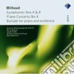 Apex: sinfonie nn. 4 & 8 - ballata per p cd musicale di Milhaud\robertson -