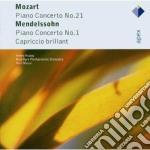 Apex: piano concerto n. 21 - capriccio b cd musicale di Mozart - mendelssohn