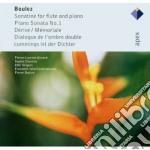 Boulez - Boulez - Apex: Sonatine-piano Sonata N.1 - Derive-memoriale cd musicale di Boulez\boulez