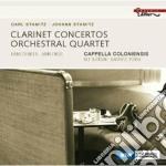 Concerto per 2 clarinetti n.2, quartetto cd musicale di Carl Stamitz