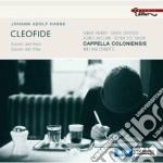 CLEOFIDE - OPERA IN 3 ATTI                cd musicale di HASSE JOHANN ADOLF