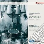 OVERTURE, SINFONIE E CONCERTI             cd musicale di FASCH JOHANN FRIEDRI
