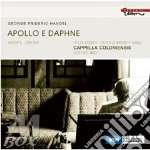 APOLLO E DAPHNE (CANTATA)                 cd musicale di HANDEL GEORG FRIEDRI