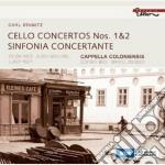 CONCERTI PER VIOLONCELLO; SINFONIA CONCE  cd musicale di Carl Stamitz