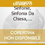 SINFONIE, SINFONIA DA CHIESA, SYMPHONIE   cd musicale di KRAUS JOSEPH MARTIN