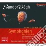 Sinfonie nn.5, 6, 8, 9 cd musicale di Franz Schubert