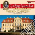 Sinfonie wq 182 e 183 h 657-666 cd musicale di Bach carl philipp e
