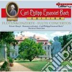 Concerti per flauto: wq 22, 166, 168, 16 cd musicale di Bach carl philipp e