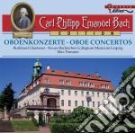 Concerti per oboe wq 165 h 468, wq 164 h cd musicale di Bach carl philipp e