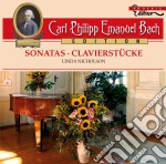 Sonate per clavicembalo cd musicale di Bach carl philipp e