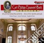 Sonate per flauto wq 134, 124, 127,129, cd musicale di Bach carl philipp e