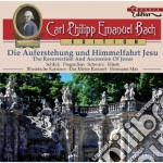 The resurrection and ascension of jesus cd musicale di Bach carl philipp e