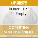 Ruiner - Hell Is Empty cd musicale di RUINER