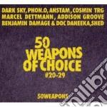 50 weapons of choice #20-29 cd musicale di Artisti Vari