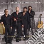Vivaldi 4 & 4 piazzolla seasons cd musicale di Aniello Desiderio
