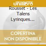 Les talens lyrinques farinelli cd musicale di Rousset