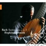 Suites per vioiloncello 1,2,3 cd musicale di Bach