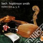 Bach - Suites Per Violoncello 4,5,6 cd musicale di Bach