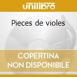 Pieces de violes cd musicale