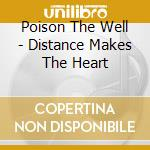 Distance only makes the heart cd musicale di Poison the well