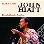 Paper thin cd musicale di John Hiatt