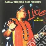 Live in memphis cd musicale di Carla thomas & frien